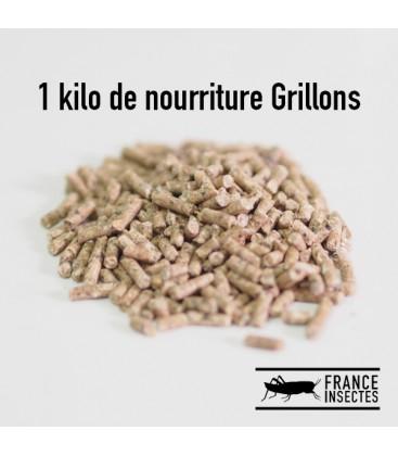 1 kg de Nourriture pour Grillons